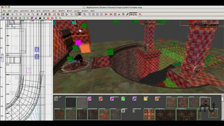 GtkRadiant for Mac - review, screenshots