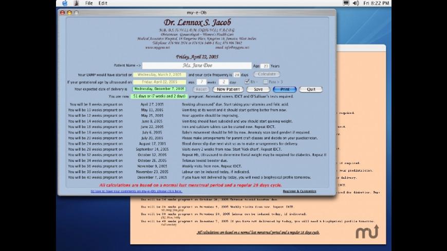 my-e-Ob for Mac - review, screenshots