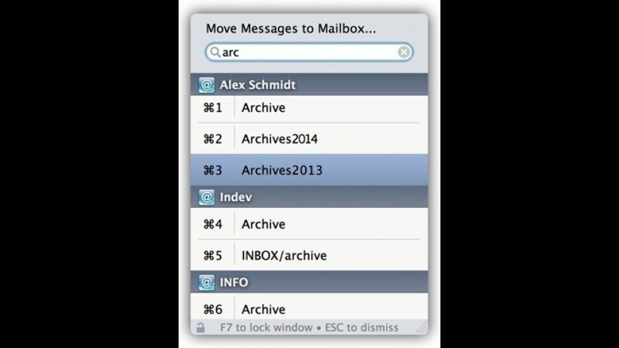 Mail ActOn for Mac - review, screenshots