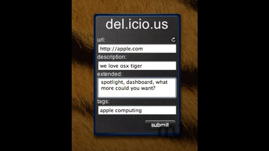 dashLicious for Mac - review, screenshots