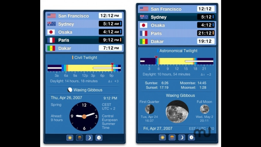 VelaClock for Mac - review, screenshots