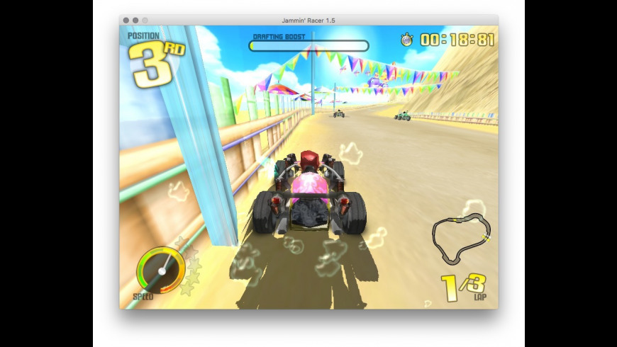 Jammin' Racer for Mac - review, screenshots