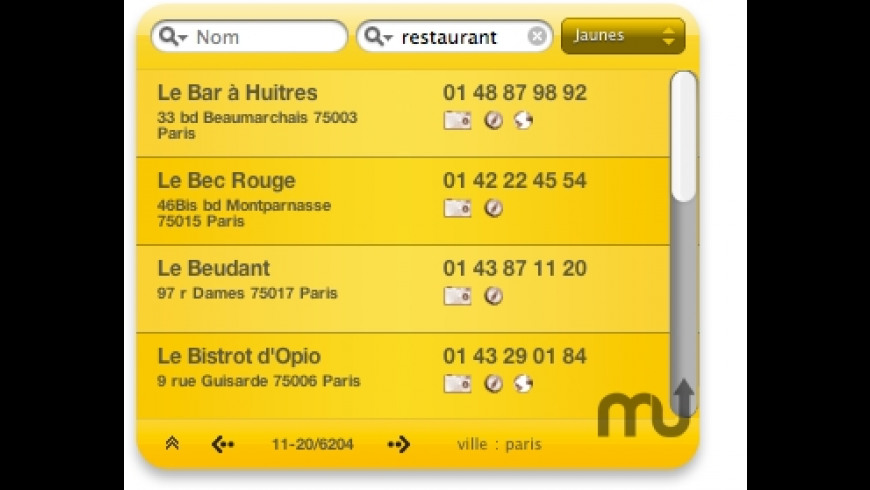 Annuaire for Mac - review, screenshots