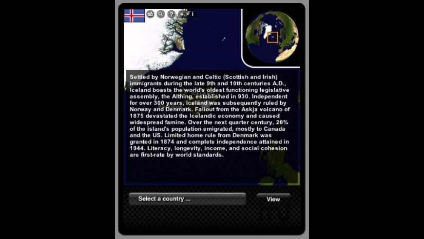 WORLDview Widget for Mac - review, screenshots