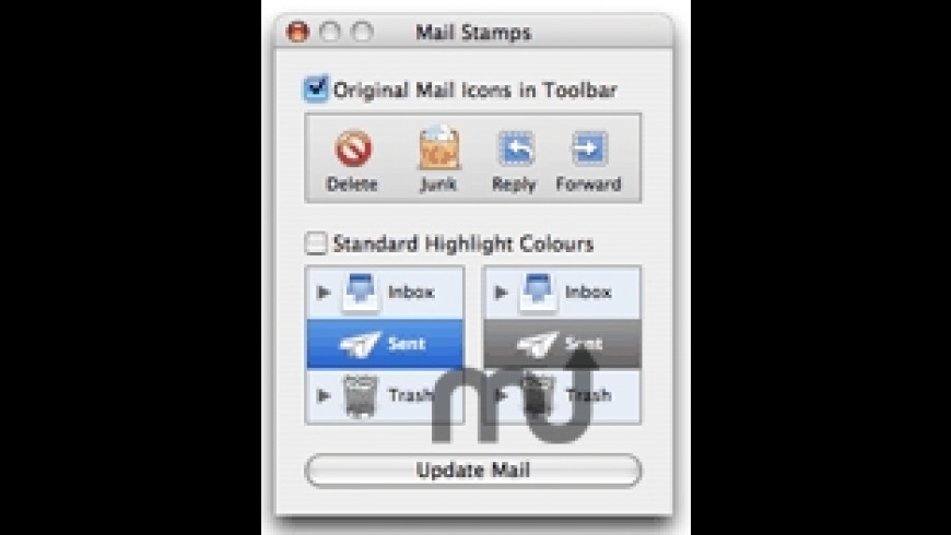 Mail Stamps for Mac - review, screenshots