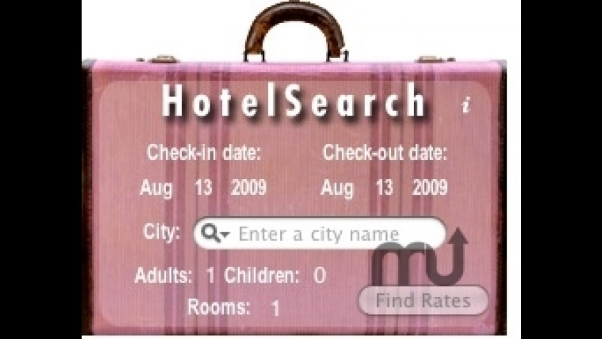Hotel Search for Mac - review, screenshots