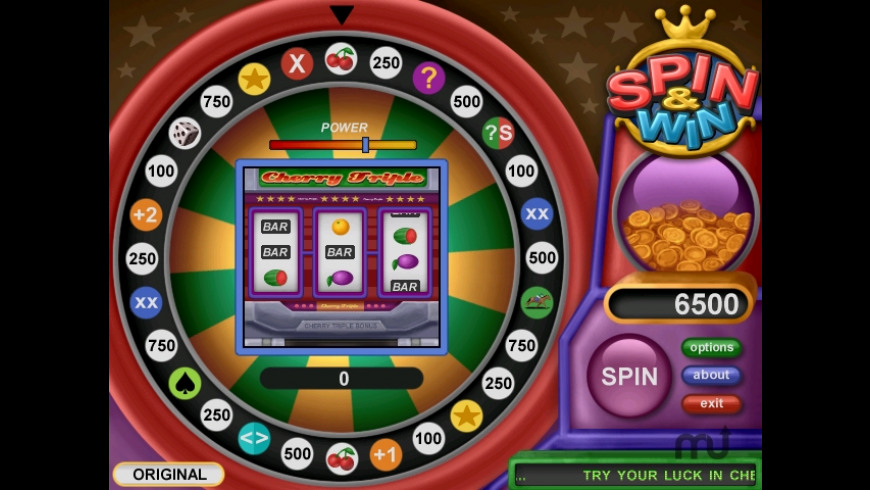 Spin and Win for Mac - review, screenshots