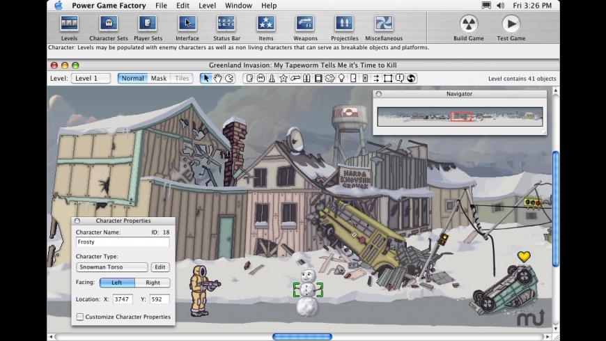 Power Game Factory for Mac - review, screenshots