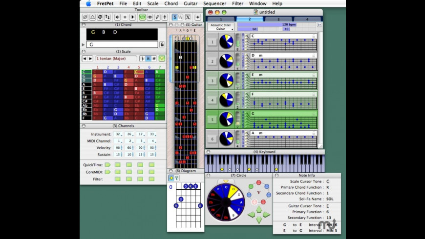 FretPet for Mac - review, screenshots