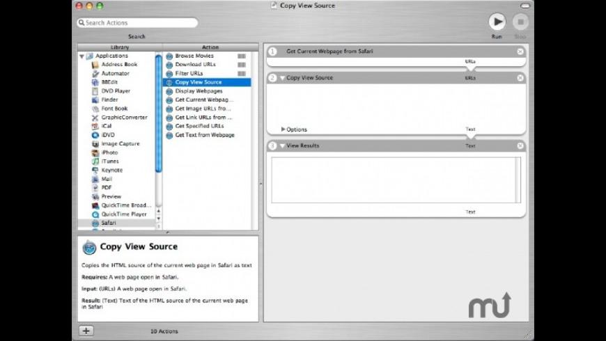 Copy View Source for Mac - review, screenshots