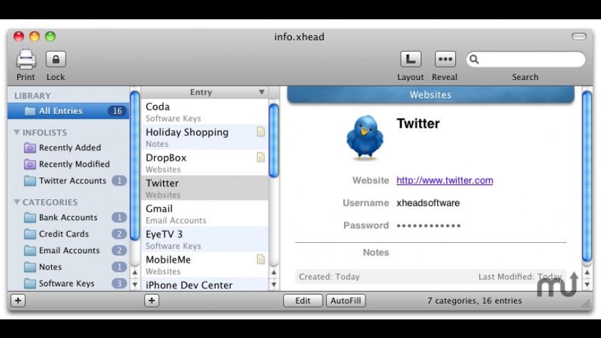 info xhead 2 0 Free Download for Mac | MacUpdate
