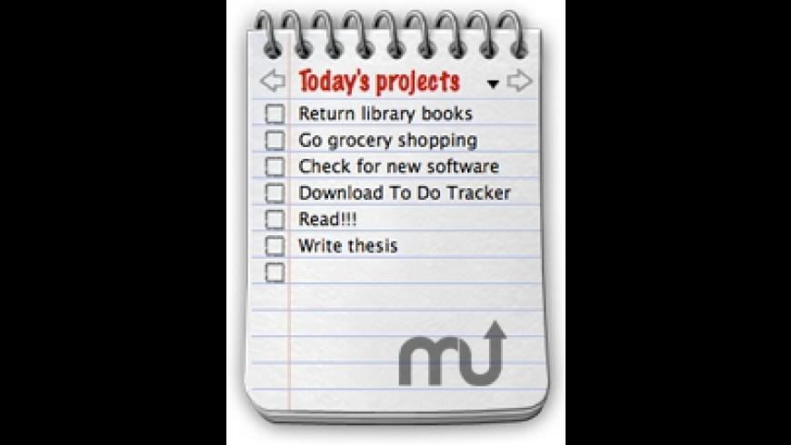To Do Tracker for Mac - review, screenshots