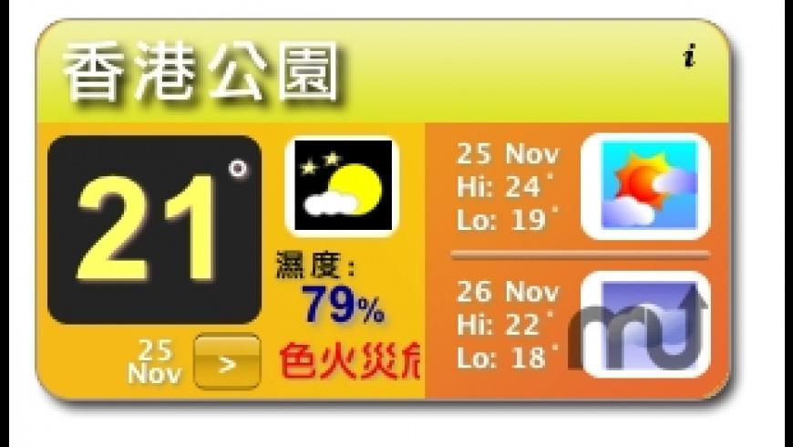 Hong Kong Weather for Mac - review, screenshots