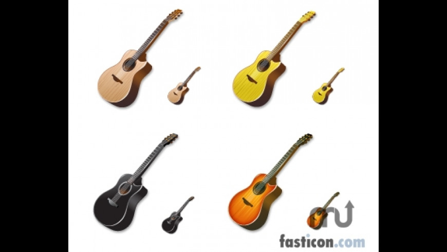 Acoustic Guitar Icons for Mac - review, screenshots
