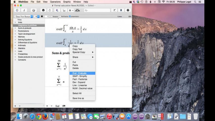 iMathGeo for Mac - review, screenshots