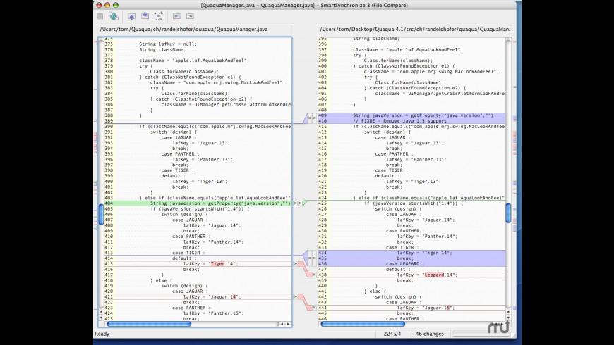 SmartSynchronize for Mac - review, screenshots