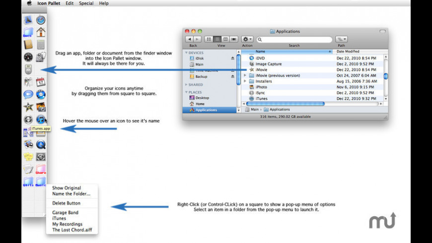 Icon Pallet for Mac - review, screenshots