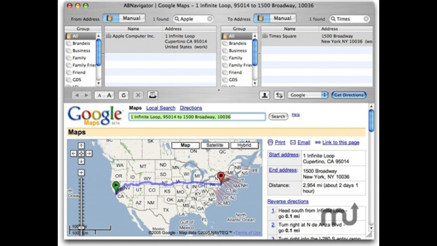 ABNavigator for Mac - review, screenshots