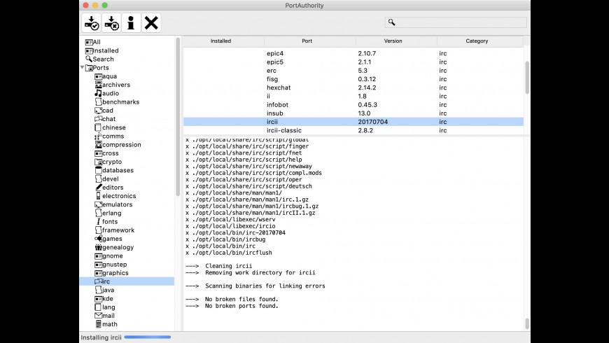 PortAuthority for Mac - review, screenshots