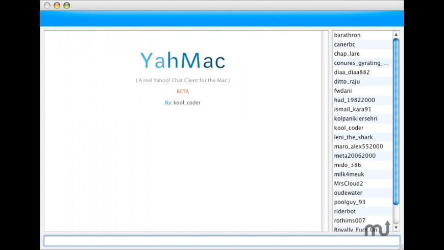YahMac for Mac - review, screenshots