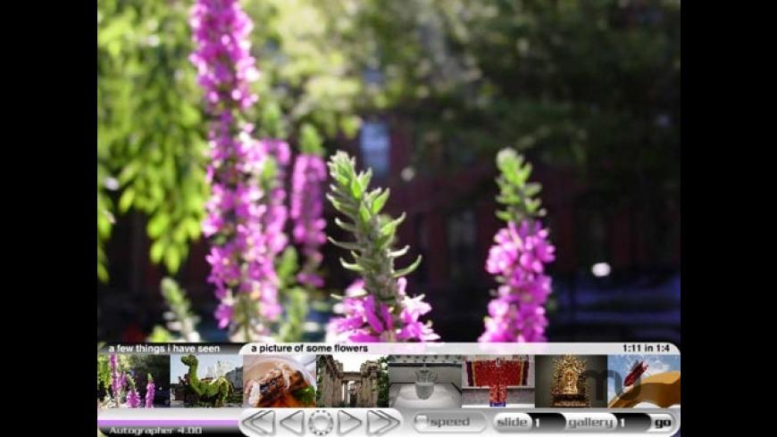 Autographer for Mac - review, screenshots
