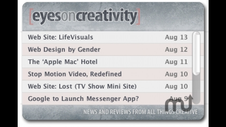 Eyes on Creativity for Mac - review, screenshots
