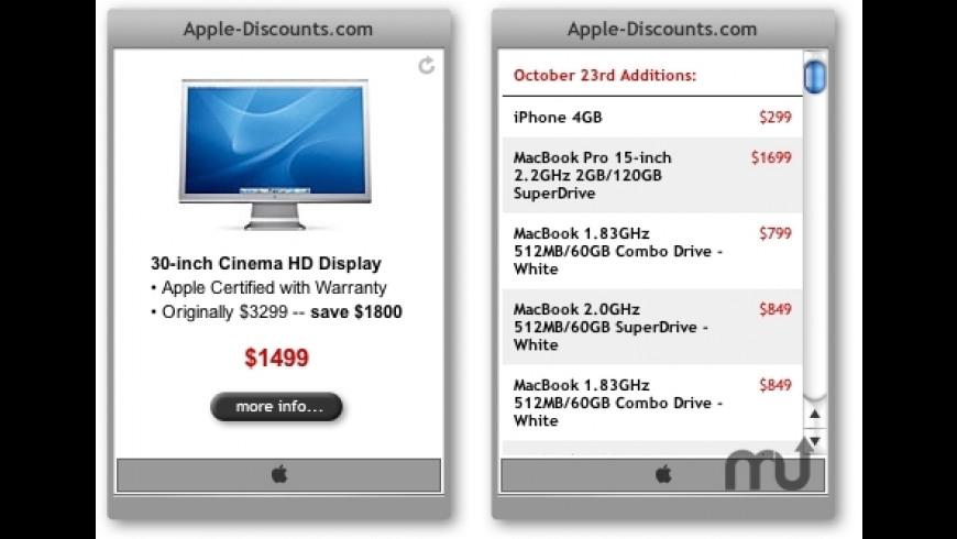 Apple.com Daily Special for Mac - review, screenshots