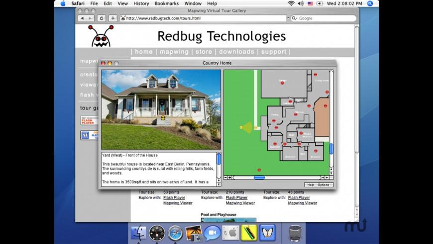Mapwing Web Viewer for Mac - review, screenshots