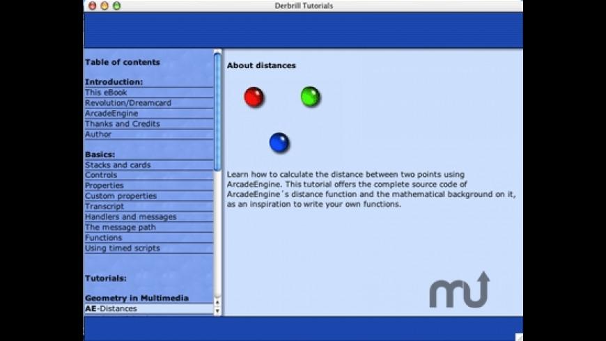 Revolution tutorial for Mac - review, screenshots