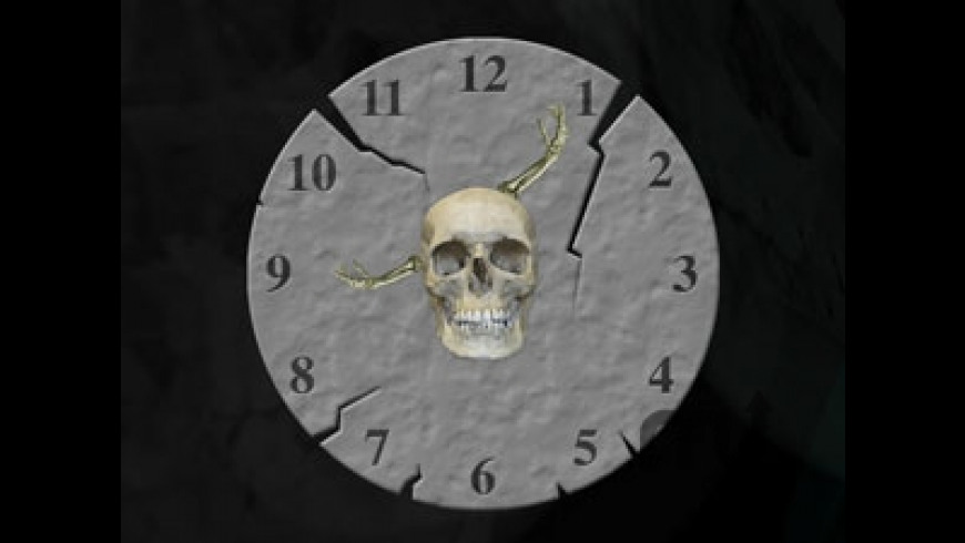 Halloween Clock for Mac - review, screenshots