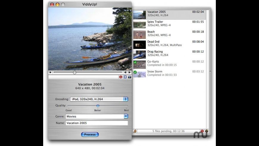 ViddyUp! for Mac - review, screenshots