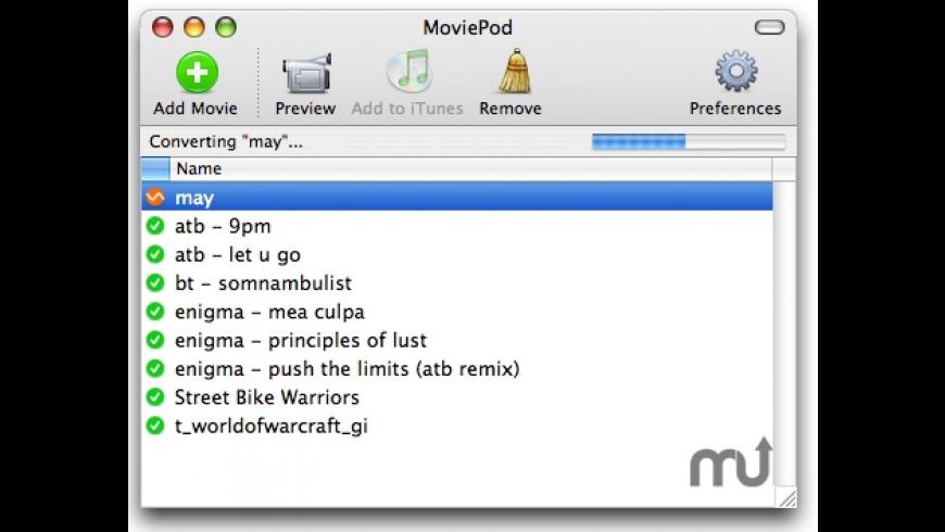 MoviePod for Mac - review, screenshots