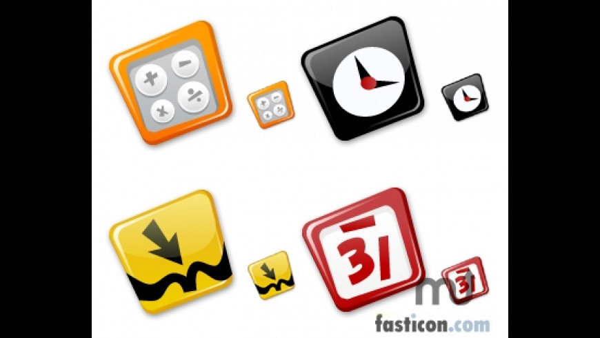 Dashboard Comic Icons for Mac - review, screenshots