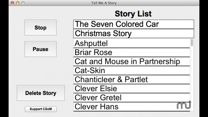 Tell Me A Story for Mac - review, screenshots