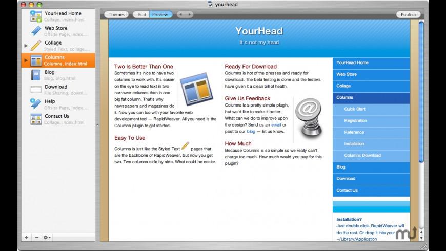Columns for Mac - review, screenshots