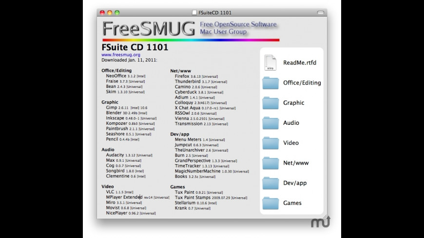 FSuite CD for Mac - review, screenshots