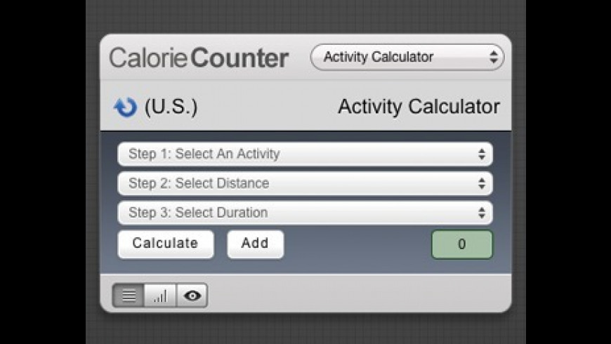 Calorie Counter for Mac - review, screenshots