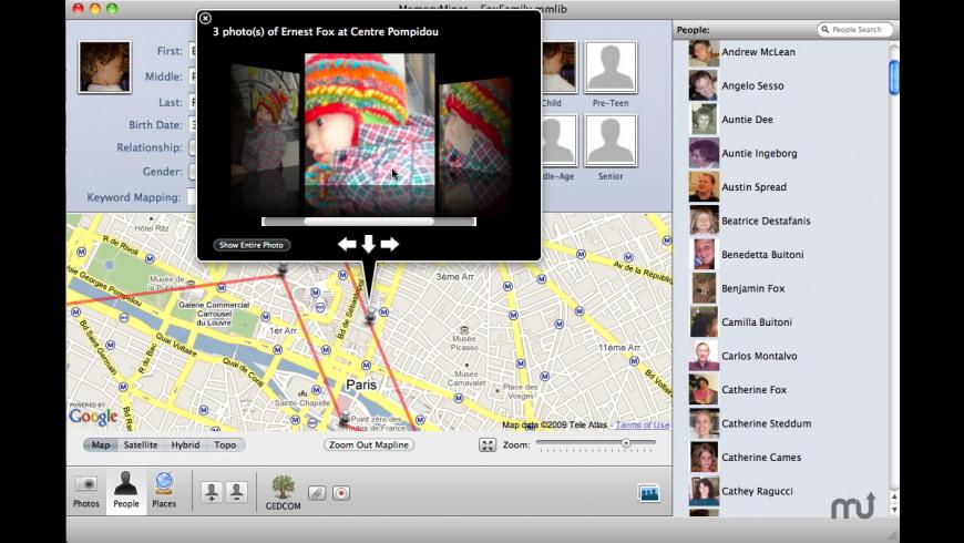 MemoryMiner for Mac - review, screenshots
