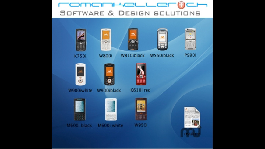 SonyEricsson Icon Collection for Mac - review, screenshots