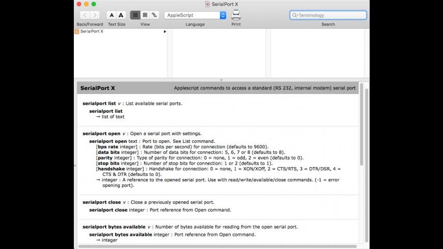 SerialPort X 2 2 Free Download for Mac   MacUpdate