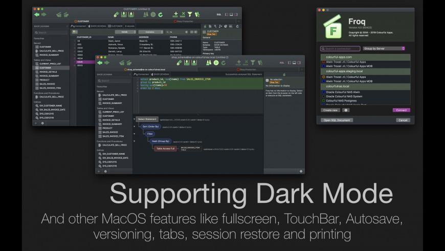 Froq for Mac - review, screenshots