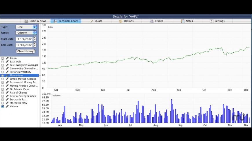 Stox for Mac - review, screenshots