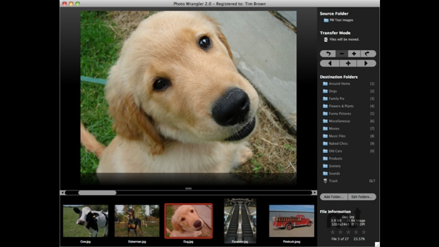 Photo Wrangler for Mac - review, screenshots