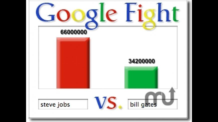 Google Fight for Mac - review, screenshots