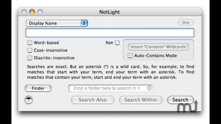NotLight for Mac - review, screenshots