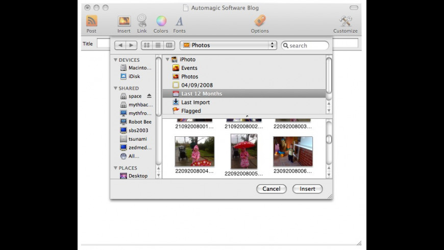 BlogThing for Mac - review, screenshots