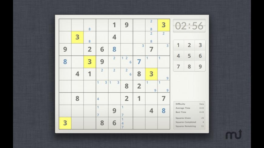 Uni Sudoku for Mac - review, screenshots
