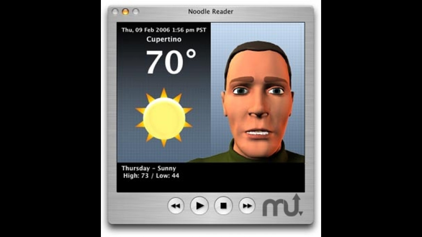Noodle Reader for Mac - review, screenshots