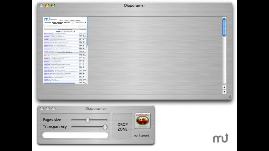 Diaporamer for Mac - review, screenshots
