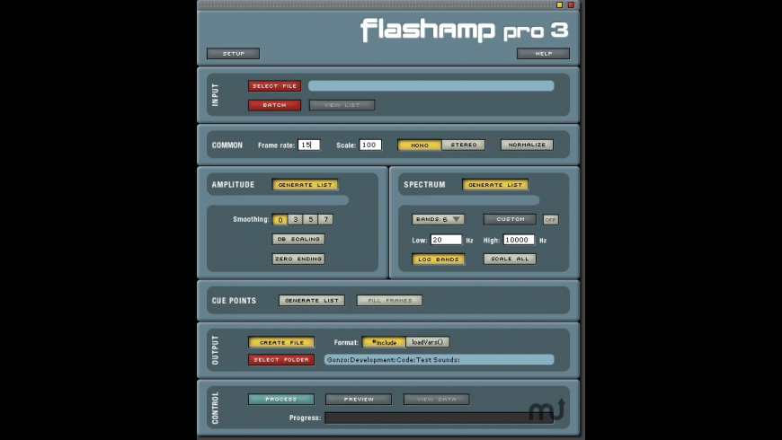 FlashAmp Pro for Mac - review, screenshots